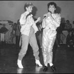 Michael Jackson Imitator, Diskothek, Essen-Innenstadt, 1985