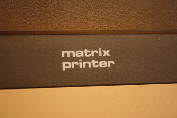 Matrix Printer